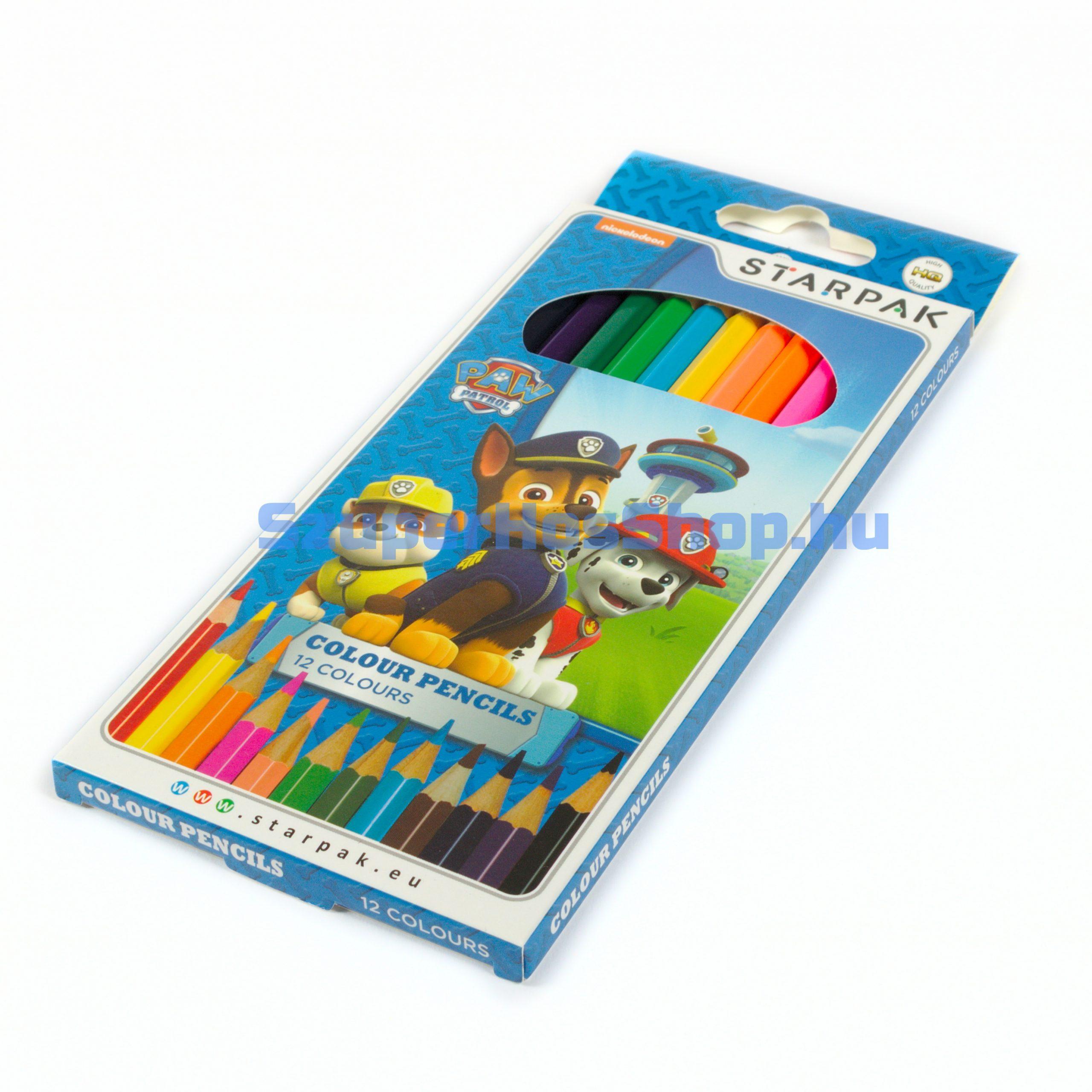 Mancs őrjárat színes ceruza (Paw Patrol)