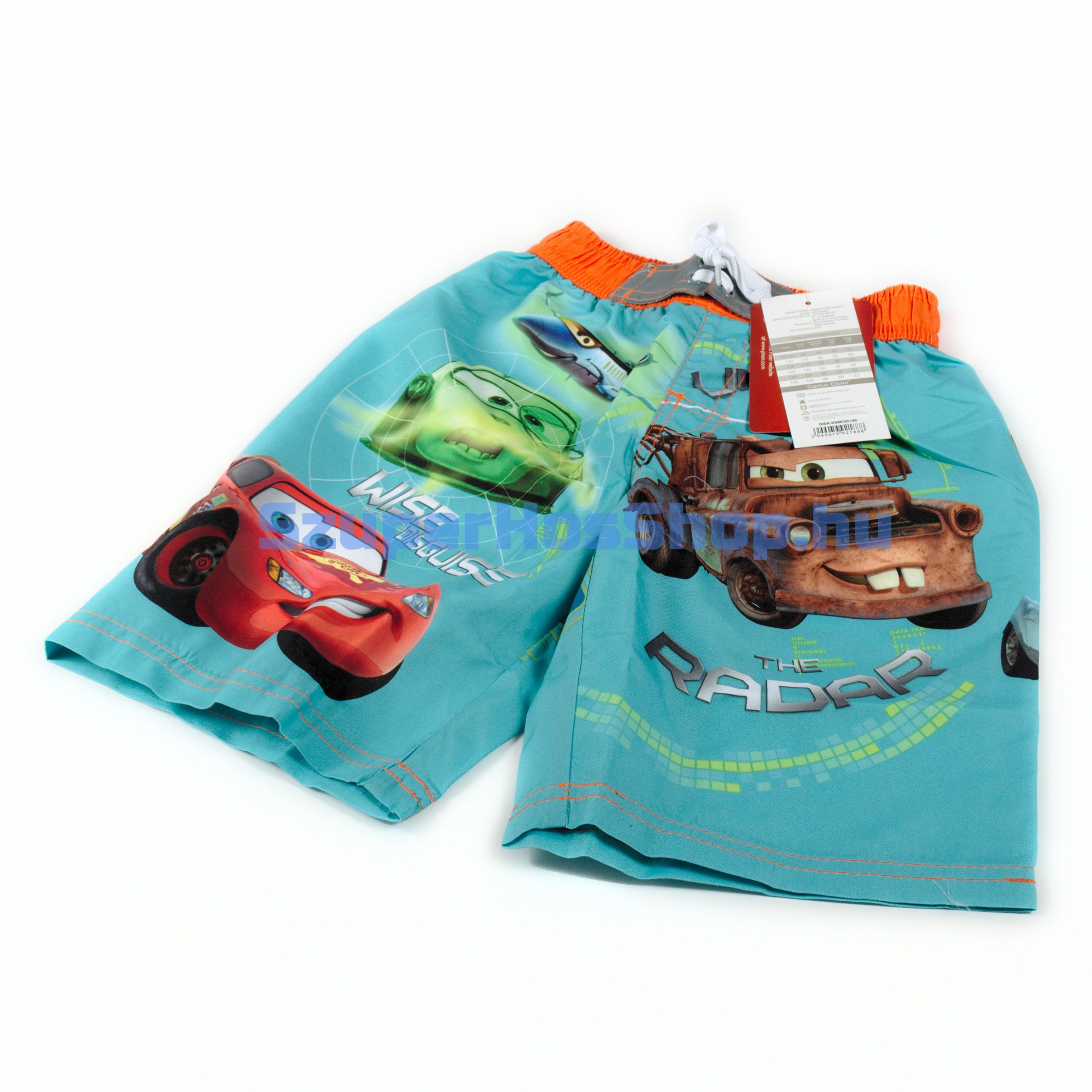 Verdák fürdőnadrág (Cars)