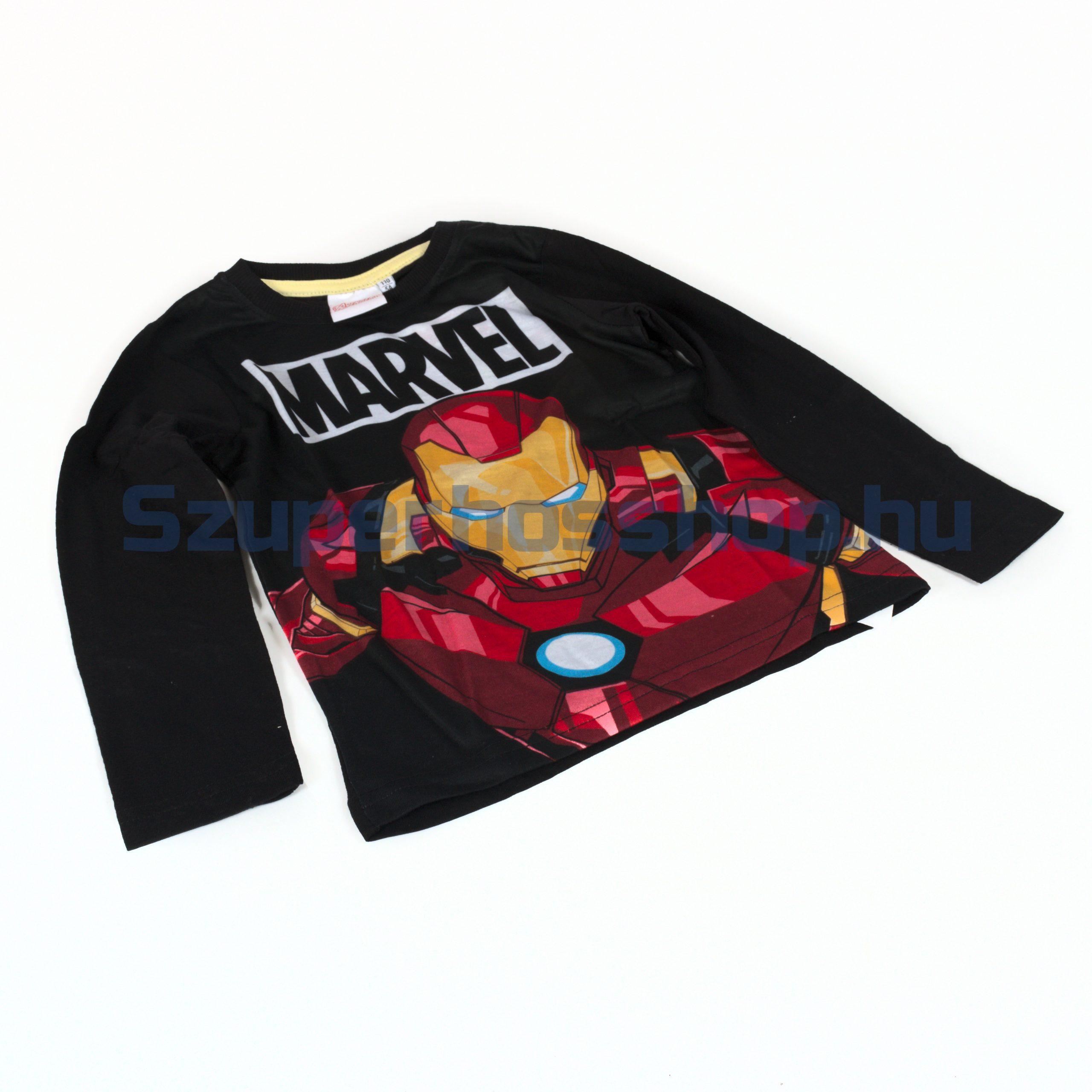Vasember hosszúujjú póló (Iron man)