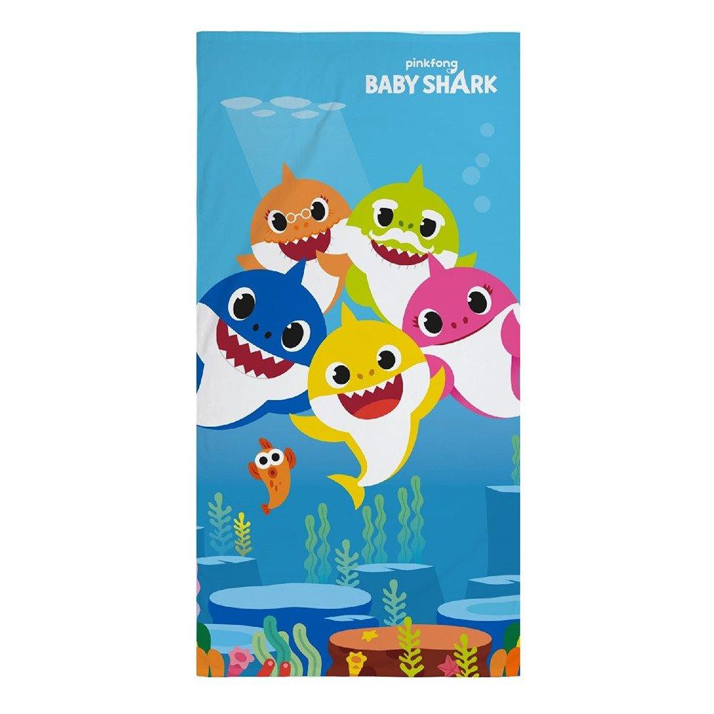 Baby cápa törölköző