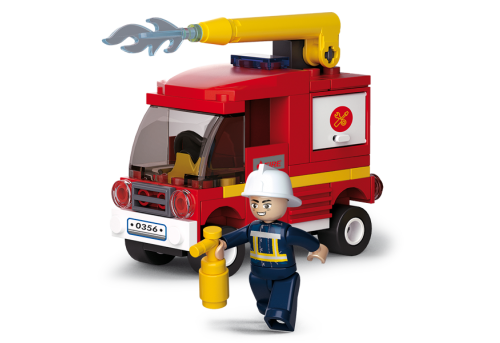 Sluban Fire építőjáték – tűzoltó autó