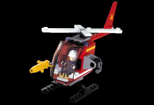 Sluban Fire építőjáték – helikopter