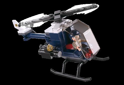 Sluban Police építőjáték – rendőrségi helikopter (4 into 1)